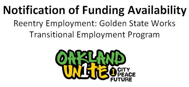 Oakland Unite Funding Opportunity FINAL